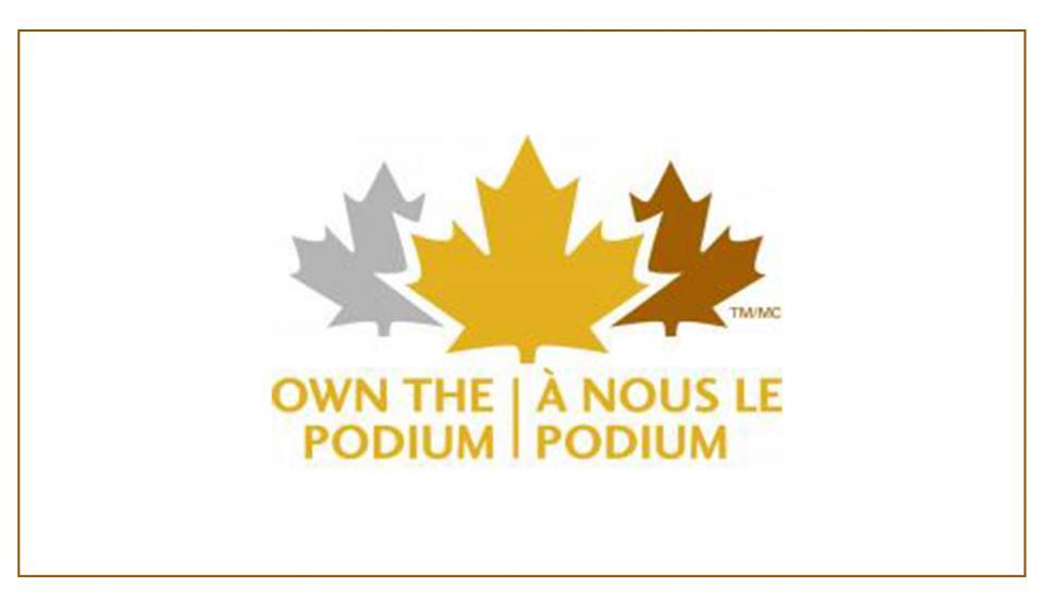 Own the Podium Logo